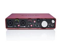 Focusrite Scarlett 2i4 新版二代 錄音卡/錄音介面 USB 2.0(原廠公司貨保固)