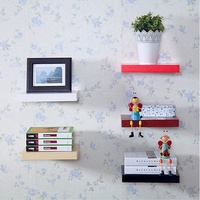 Floating Wall Shelves Hanging Shelf Display Wood Book Shelf 60*15cm