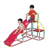 ☆天才老爸☆→【智高Gigo】我的健身房( 溜滑梯組 / 雙滑梯 ) Grown up 趣味摺疊