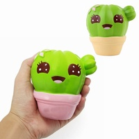 Squishy Cactus Scented Squeeze Slow Rising Toy Soft Gift Collection