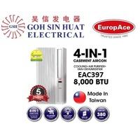 EuropAce EAC397 -  4 in 1  8000BTU Casement Aircon