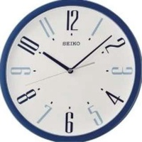 Seiko Funky Blue Wall Clock QXA729LT QXA729L QXA729