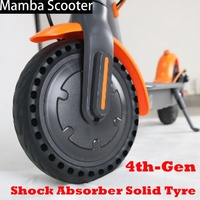 Scooter Tire for Xiaomi Mijia M365 Scooter Skateboard Tyre Solid Hole Tires Shock Absorber Non-Pneumatic Tyre Damping Tyre Wheel