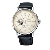 ORIENT STAR 東方之星 CLASSIC系列 經典縷空機械錶 皮帶款 銀色 RE-AV0002S