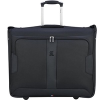 (DELSEY Paris) Delsey Luggage Sky Max 2 Wheeled Garment Bag- (Size:One Size|Color:Black)
