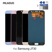 Adjustable TFT For SAMSUNG Galaxy J7 Pro J730 J730F LCD Display Touch Screen