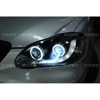 大台北汽車精品 豐田 TOYOTA 01-07 ALTIS R8 大燈 光圈 總成 搭配 HID 效果100分 大燈總成