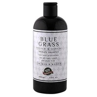 BLUE GRASS Co. Anti-Hair Loss Premium Natural Nettle and Garlic Shampoo, Hair Loss Prevention Therapy Shampoo, Helps Stop Hair Loss, Grow Hair Fast, Hair Loss Treatment for Men & Women, 14 Fluid Ounce