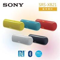 【SONY 索尼】可攜式藍芽立體聲喇叭(SRS-XB21)