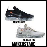 -MUS- Nike Air Vapormax X Off-White THE TEN 黑 白 慢跑