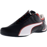 PUMA Mens BMW MS Future Cat MU Walking Shoe, Team Blue-High Risk Red White, US - intl
