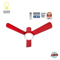 Panasonic 1200mm(48 inch)2-in-1 LED Ceiling Fan(Solid Red)