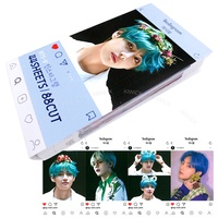 BTS V Photocard - BangTan Boys V - Instagram Photo Card 44 Sheets 88 Photos