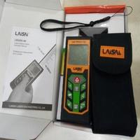 萊賽LAISAI LSG203綠光測距儀 80米 長度/面積/體積 綠光測距儀可換算台尺坪