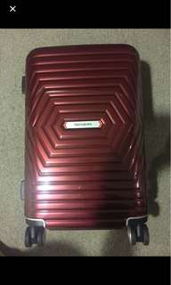 Samsonite Astra (Red) 55cm luggage with warranty