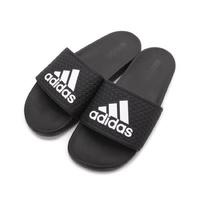 [Adidas] 中大童軟底拖鞋 黑色 B27894《曼哈頓運動休閒館》