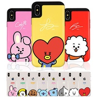 BT21 iPhone X iPhone 8 Plus iPhone 8 iPhone 7 Plus iPhone 6s iPhone 6  Clear  Card case