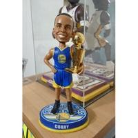 NBA公仔 Stephen Curry 2015冠軍杯 搖頭公仔 限量