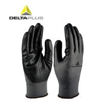勞工手套 代爾塔 丁腈橡膠涂掌透氣耐磨防滑防油汽修木工透氣 工作勞保手套 時尚潮流