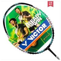 天天體育 VICTOR/勝利 羽毛球拍 訓練比賽球拍 進攻型 極速JS-10滿900免運