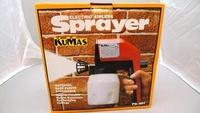 附發票*東北五金*正KUMAS 電動油漆噴槍 噴槍組 PG-601 噴霧器 噴水器 可調式 優惠特價中!