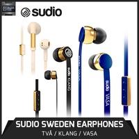 Free Delivery! Lowest Price Guaranteed! SUDIO Sweden - Premium Earphones KLANG / TVA / VASA. Local Ready Stocks