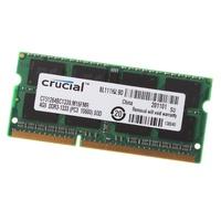 全新 筆電記憶體 現貨 英睿達 4GB 2RX8 PC3-10600S DDR3 1333MHz RAM 雙面 終身保固