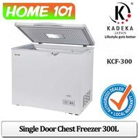 Kadeka Single Door Chest Freezer 300L KCF-300
