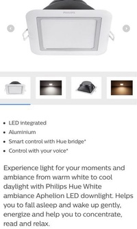 🚚 Philips Hue White Ambience Downlight (BNIB)