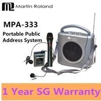Martin Roland MPA-333 Portable Voice Amplifier PA System  Public Address Speaker