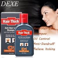 Anti-hair Loss Shampoo Thick Dexe 100ml C1 Hair Growth Serum Hair Loss Shampoo