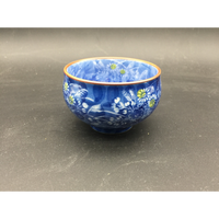 There is farmland in tiny Xia Japan burn tea cup porcelain hand-drawing Great ceramics cup and water