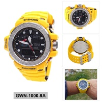Casio G-SHOCK GULFMASTER Yellow Resin Case Resin Strap Mens GWN-1000-9A