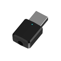 Portable Mini 2In1 Bluetooth 5.0 Transmitter Receiver 3.5Mm Aux Usb Wireless St