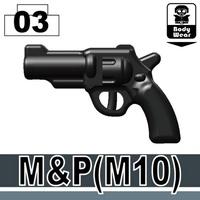 特別定做LEGO Lego特別定做零件LEGO武器家具瓦特SWAT M&P M10手槍世界大戰瓦特武器 World antique
