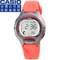 【CASIO】卡西歐鬧鈴多時區兒童電子錶-紅(LW-200-4A 全配盒裝)