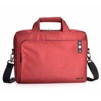 "Agva 13""  LTB307 Heritage Briefcase (Red)"