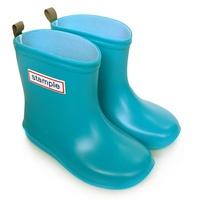 Stample日本製兒童雨鞋(天空藍) 限時免運再送鞋墊 (公司貨)【普風歐美精品】