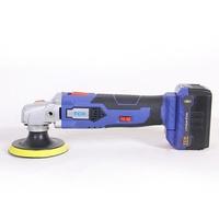 電動工具鋰電充電式無線16V汽車打蠟機拋光機地板打蠟家用迷你  DF 科技藝術館