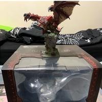 魔物獵人 世界 雄火龍 復刻版 模型 公仔