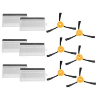 6Pcs Side Brush Sponge Filter Kit Replacement Kit For ECOVACS DEEBOT Vacuum Cleaner
