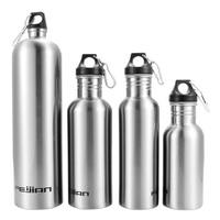 500/750/1000/1800ML Stainless Steel Travel Water Bottle Outdoor Sports Kettle