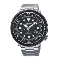 Seiko Seiko Prospex Solar Air Diver Silver Stainless Steel Band Watch SNE497P1