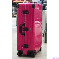 ago*限量桃紅RIMOWA Limbo Samba pink 30吋 全球限量250咖 行李箱 專櫃正品