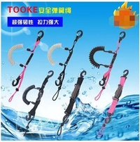 TOOKE camera diving shell waterproof shell safety quick release connection buckle spring rope missed