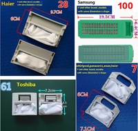 washing machine filter garbage bag for Haier Midea TCL Swan Panasonic Whirlpool LG Samsung Toshiba