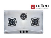 FUJIOH FH-GS5530 SVSS 3 BURNER STAINLESS STEEL HOB WITH SAFETY VALVE