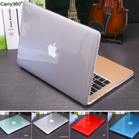 Carry360 Crystal Matte case For Apple macbook Air Pro Retina 11 12 13 15 Laptop Bag for Macbook Air 13 Case with Touch bar A1932