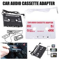 Cartridge Adapter Car Cassette Tape Cassette Converter 3.5mm Plug for iPhone MP3 AUX CD Player
