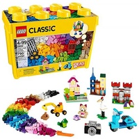 LEGO 樂高 Classic Large Creative Brick Box 10698 Build Your Own Creative Toys, Kids Building Kit (790 Pieces)